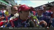Takuma Sato Wins 101st Running of the Indianapolis 500 (Indy 500) [2017]
