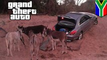 Keledai menarik mobil mercedes curian, tertangkap basah - TomoNews