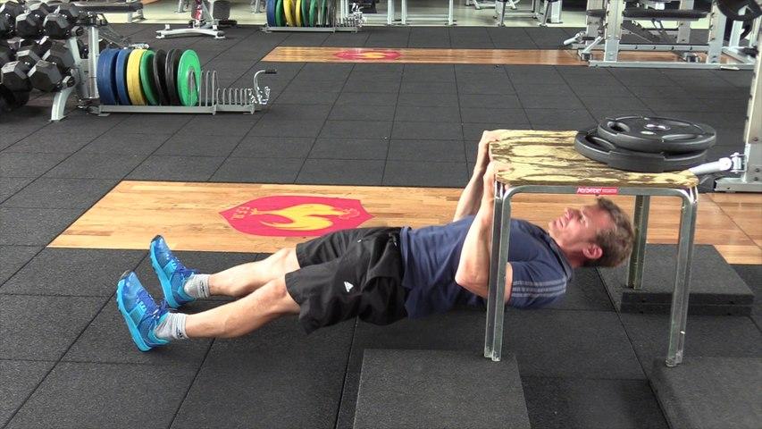 Séance de musculation n°1 (travail sans salle)