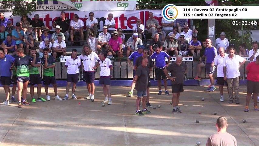Seizièmes de finale, 97ème Grand Prix Bouliste, Sport Boules, Gap 2017