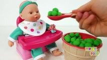 Vivant bébé poupée aliments pour animaux aliments jouer dunettes pot jouet entraînement Super snacks snackin sara doh