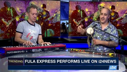 Fula Express performs live on i24NEWS