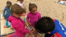 Vendée : Un bracelet d'identité pour enfants sur les plages