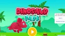 Bébé dinosaure Explorez pour amusement amusement Jeu jurassique enfants parc monde