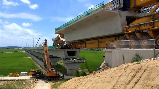 Amazing Bridge Construction Process with Modern Technology - dailymotion