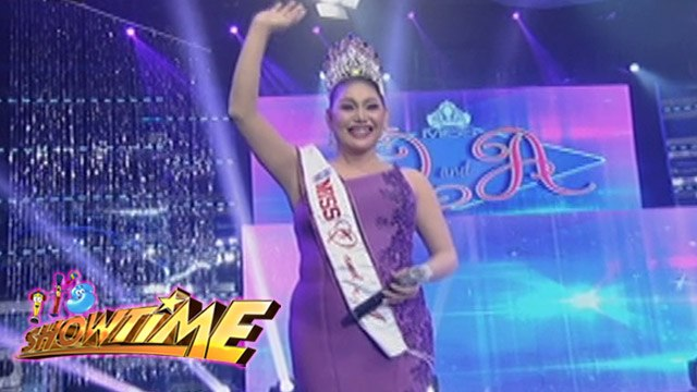It's Showtime Miss Q & A: Matrica Matmat Centino continues to reign!