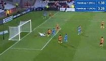 Mathieu Coutadeur Goal - RC Lens 0-1 AC Ajaccio  (Coupe de la Ligue Round 1) 08.08.2017 (HD)