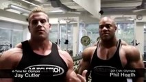 JAY CUTLER AND PHIL HEATH - CHEST TRAINING - Bodybuilding Muscle Fitness