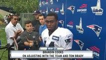 Brandin Cooks Discusses Adjustment With Patriots, Tom Brady