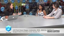 Neetu Jain, IBM and Daniela Dorneanu, Appway Grace Hopper Celebration 2016 #GHC16 #theCUBE