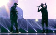 Ice Cube on Stage with Drake - Hip Hop is Dead 2016