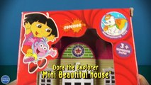 Dora the Explorer Mini Beautiful house, Maped Tatoo, 2 Sided Playmat Farmland ,