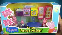 Peppa Pig Car and Kitchen Playsets Preview , cartoons animated tv series show 2018