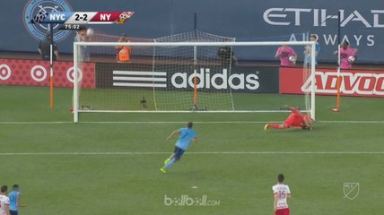 David Villa Menangi Derby New York dengan Hat-trick Perdana