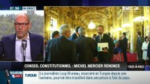 Perri & Bouchet-Petersen: Pourquoi Michel Mercier a-t-il renoncé à siéger au Conseil constitutionnel ? - 09/08
