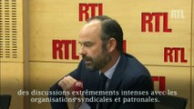 """Édouard Philippe : """"Je voudrais  rendre hommage à Muriel Pénicaud"""""""