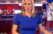 BBC Çalışanının Cinsel İçerikli Film İzlediği Görüntü Ekrana Yansıdı