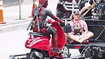Ryan Reynolds Spotted On The Set Of Deadpool 2 In Vancouver, Canada