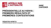 Présidentielle au Kenya : premiers résultats et premières contestations