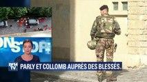 """Levallois-Perret: """"La voiture attendait les militaires qui sortaient"""", raconte un témoin de la scène"""