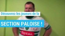 Rugby : voici le trombinoscope vidéo des joueurs de la Section Paloise