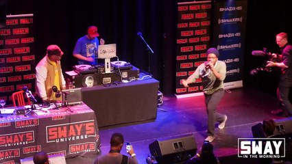 Sway in Chicago- Chicago Cypher With Hot and Upcoming Emcees PT 1