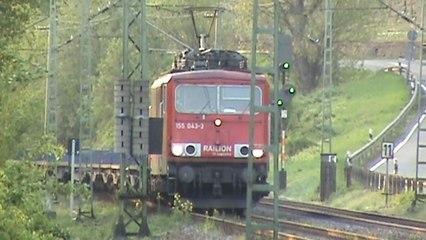 Züge Hammerstein Leutesdorf, 155, Fret Prima, SBB Cargo Re482, 151, 189, 145, 185, 143, 2x 425
