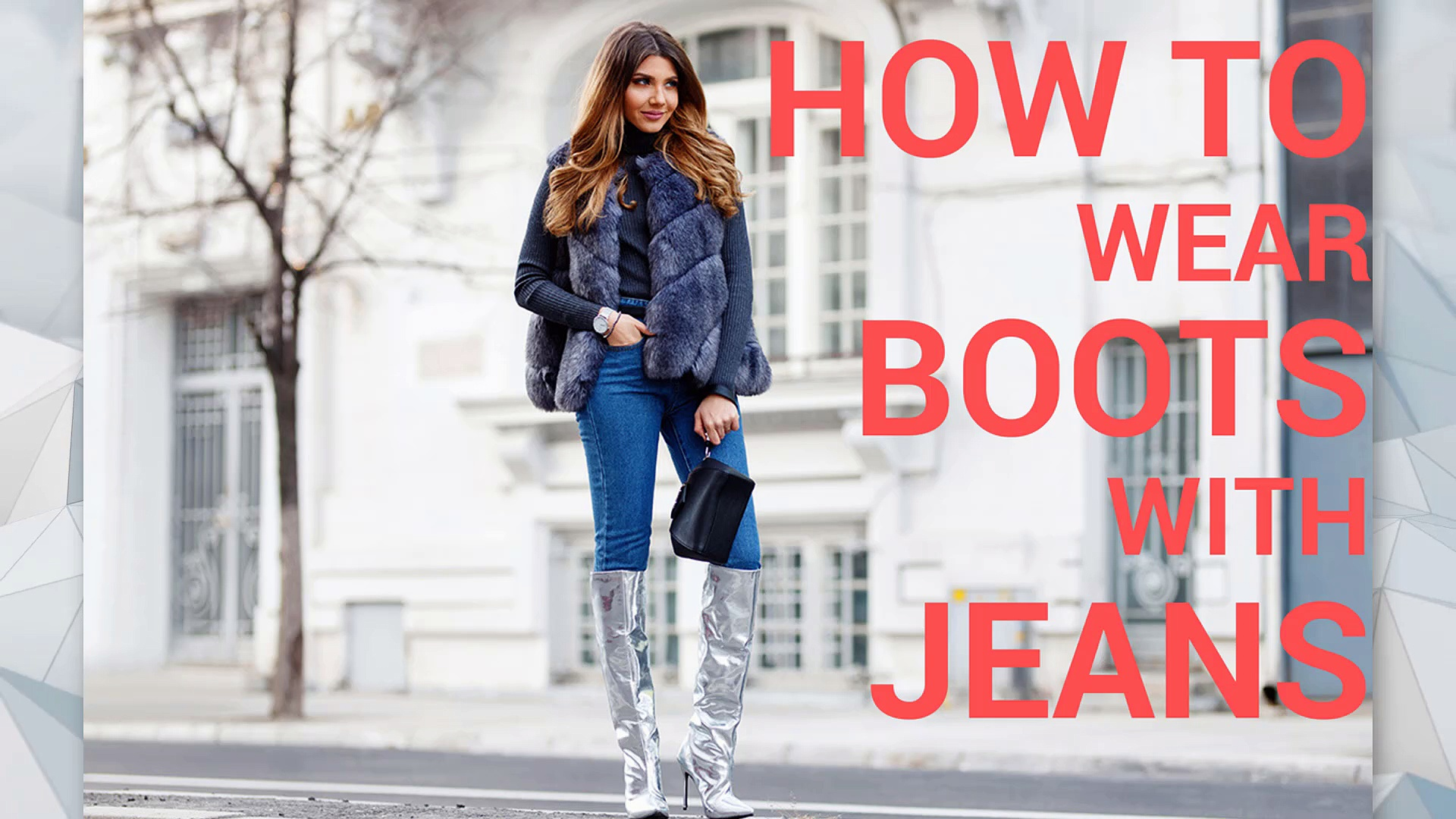 How to wear boots with jeans. http://bit.ly/2zwnQ1x