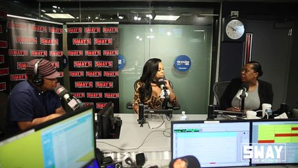 """Niecy Nash on New Show """"Claws"""" + Helping Out Karrueche Tran on Sway In The Morning"""