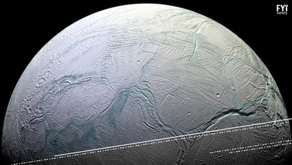 Lua de Saturno pode conter vida