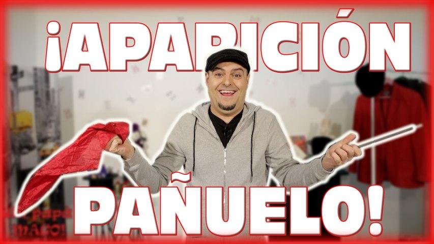 TRUCO DE MAGIA   APARICIÓN DE UN PAÑUELO   APRENDE MAGIA   Is Family Friendly