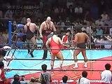 Riki Choshu & Animal Hamaguchi vs. Nikita Koloff & Krusher Khruschev (10/04/1986)