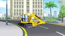 Синий Трактор Едет в Городке Машинок! Сборник Мультики про машинки для детей все серии подряд