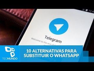 10 alternativas para substituir o WhatsApp
