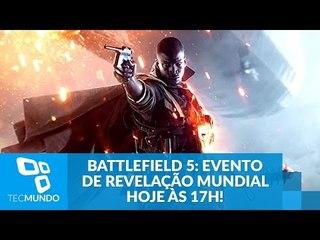 Battlefield 5: Evento mundial de revelação hoje às 17h!