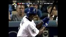 2008 Dodgers: Juan Pierre singles to right, Chin lung Hu scores vs Reds (5.20.08)