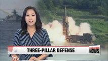 S. Korea to push for early establishment of three-pillar defense system amid escalating tensions