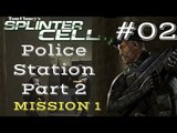 Splinter Cell Gameplay | Let's Play Tom Clancy's Splinter Cell - Police Station 2/2 (Mission 1)