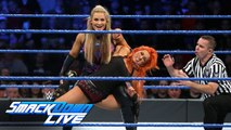 Becky Lynch vs. Natalya - SmackDown Women's Champion: SmackDown LIVE, Nov. 22, 2016 - Natalya vs Becky Lynch - WWE