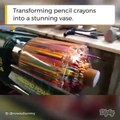 Super cool effects with the pencil crayons