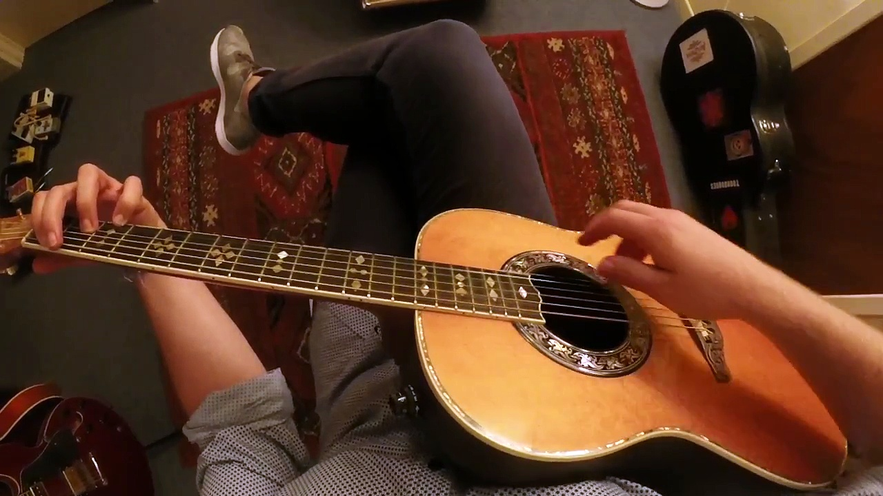 How To Play Harmonics On Acoustic Guitar | Lenny Breau Guitar Lesson