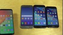 Samsung Galaxy J5 2017 vs. Galaxy S8 vs. Galaxy A5 2017 vs. Galaxy A3 2017 - Which Is Faster