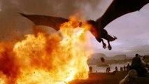 Games of Thrones (2011) Saison 7 - Episode 4 : Bronn blesse Drogon avec la baliste de Qyburn