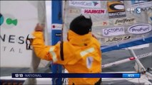 Réchauffement climatique : le navigateur Yvan Bourgnon en voilier sur les eaux glacées
