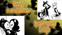 Bendy in carelessness, with Alice Angel, Boris and Caitlyn