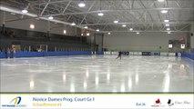 Championnats québécois d'été 2017 / Novice Dames prog. court Gr.1