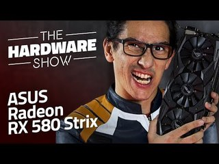 Placa de vídeo ASUS Radeon RX 580 Strix [Review] The HardWare Show #01