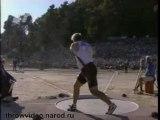 Athlé lancer poids JO Athènes 2004 Adam Nelson