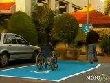 Parking handicapé rigolo humour