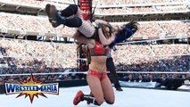 AJ Lee, Paige vs The Bella Twins (Nikki Bella, Brie Bella) - Tag team match - WWE WrestleMania 31 - WWE